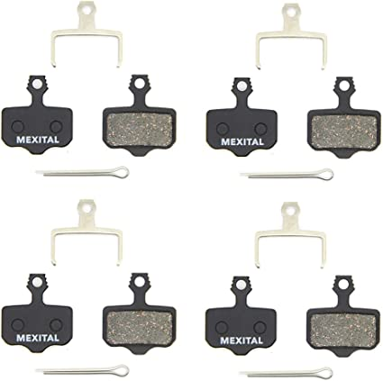 4 Pairs Disc Brake Pads For Avid Elixir R//CR//CR-MAG//E1//E3//E5//E7//E9 X0 XX DB1//3//5