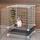 kathson Rabbit Activity Zone Bunny Chew Toy for