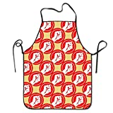 startoronto Fist Power Aprons For Women/men Bib Save-all Grill Personalized Overhand Funny Chef Apron
