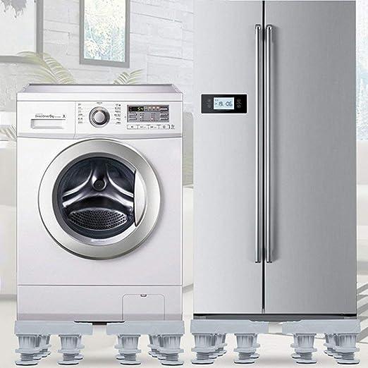 KISlink Refrigerador Lavadora Base Ajustable Fijo 12 Pies-Gris ...