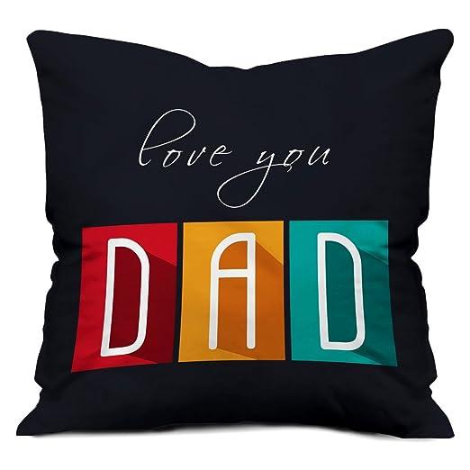 indibni Funda de cojín Día del Padre, con texto en inglés ...
