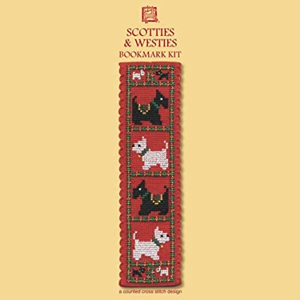 Poppies Textile Heritage Collection Cross Stitch Bookmark Kit