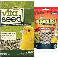 Higgins Vita Seed Canary Bird Food 2 lb bag, Plus a 1 oz Millet Bites Bird Treat, Fast Free Delivery, by Just Jak's Pet Market