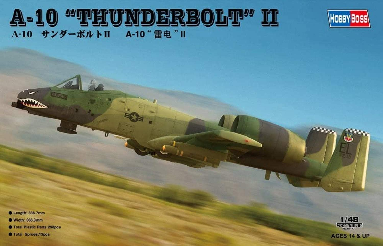 Hobby Boss A 10 Thunderbolt Ii Airplane Model Building Kit Toys Games