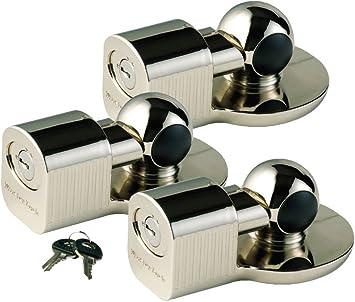 Master Lock 377KA Universal Trailer Coupler Lock Keyed Alike Pack of 2