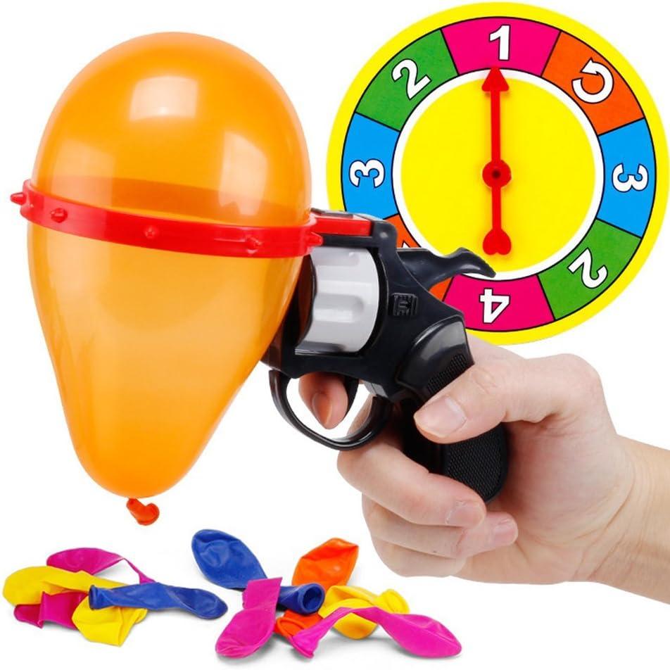 Ogquaton Calidad Premium Juguetes complicados Nueva ruleta rusa Globo Pistola Fiesta Parodia Fiesta Juguetes para adultos interactivos: Amazon.es: Juguetes y juegos