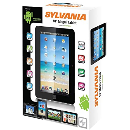 amazon com sylvania 10 touch screen magni tablet sytab10st rh amazon com
