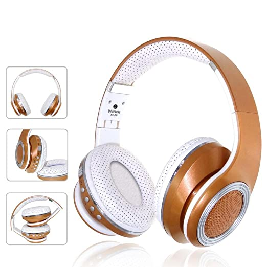 Amazon.com: GBSELL FE-19 Adjustable Stereo Audio Blutooth 4.2 Earphone Auriculares Bluetooth Headset Wireless Headphones For iPhone,iPod, iPad, ...