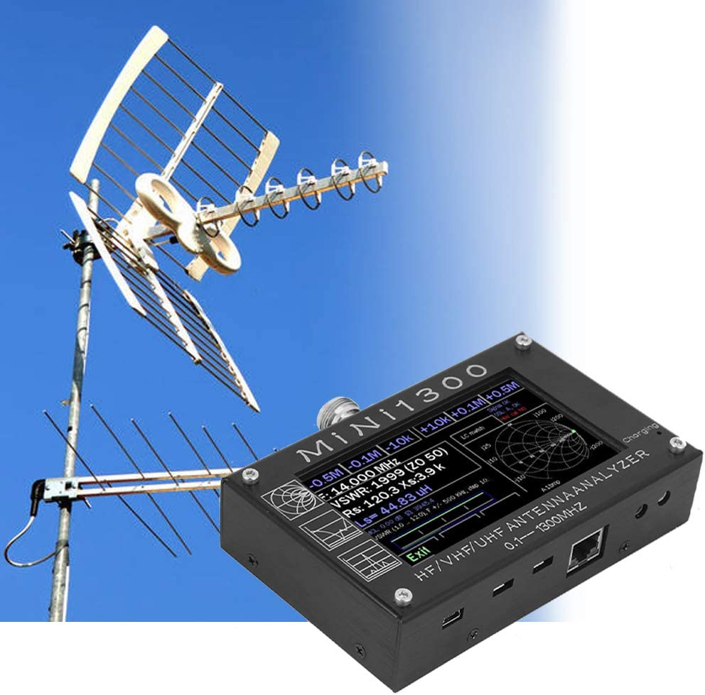 Analizador de antenas Mini1300 Analizador de vectores de alta ...