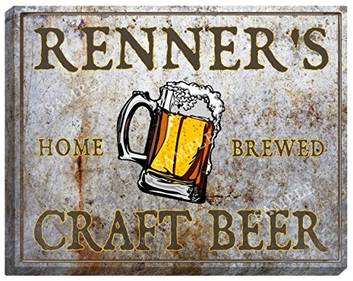 renners-craft-beer-stretched-canvas-sign-16-x-20