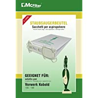 McFilter - 18 bolsas de fieltro para aspiradora