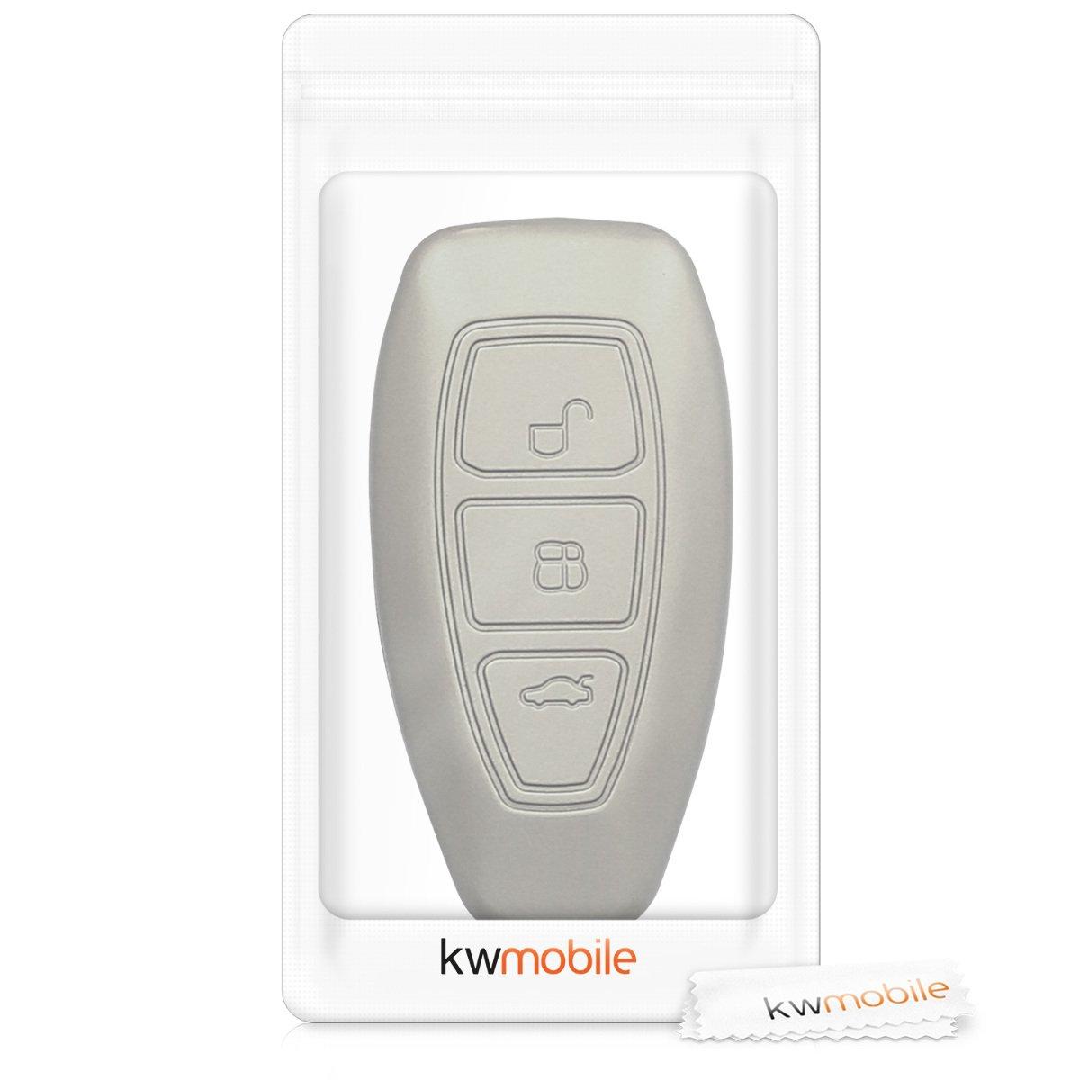 e29478979 kwmobile Funda de Silicona para Llave Keyless Go de 3 Botones para ...