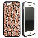 VONDER Kim Kardashian Crying Black Rubber Case Cover for iPhone 5 5S SE