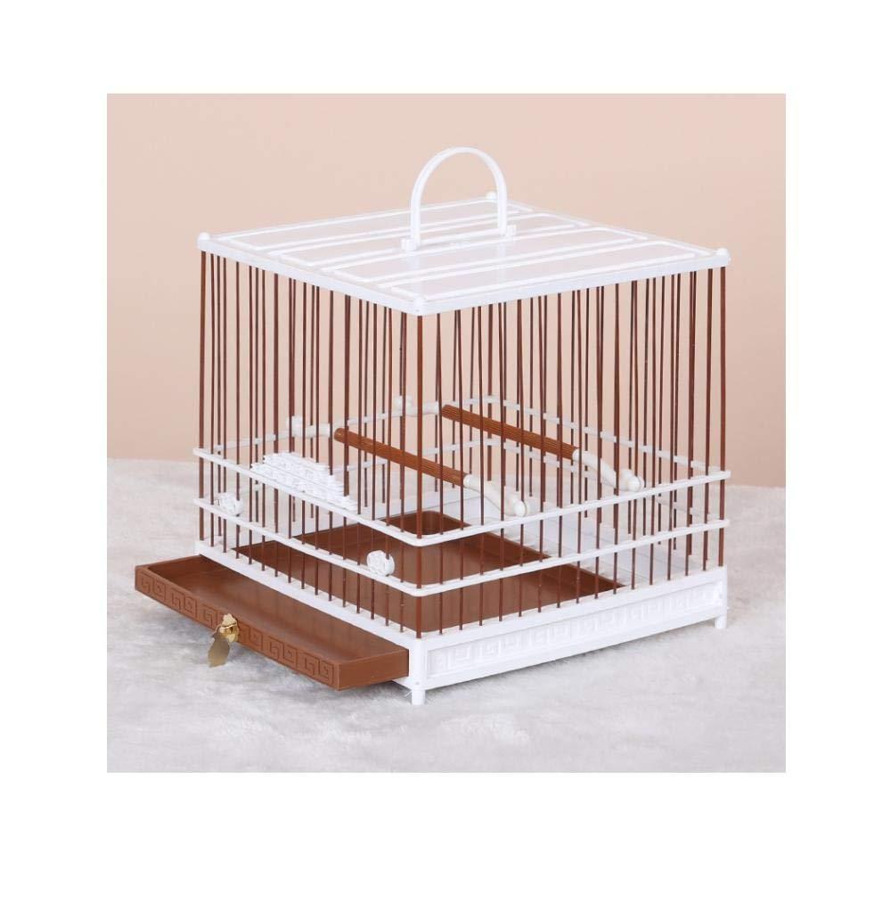 Yanxinenjoy Jaula, Ojo Bordado, Jaula de plástico para pájaros ...