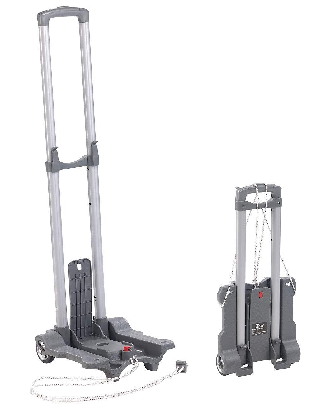 Xcase Transportkarre: Ultra-kompakte Falt-Sackkarre mit Nylon-Rädern, bis 45 kg belastbar (Karre)