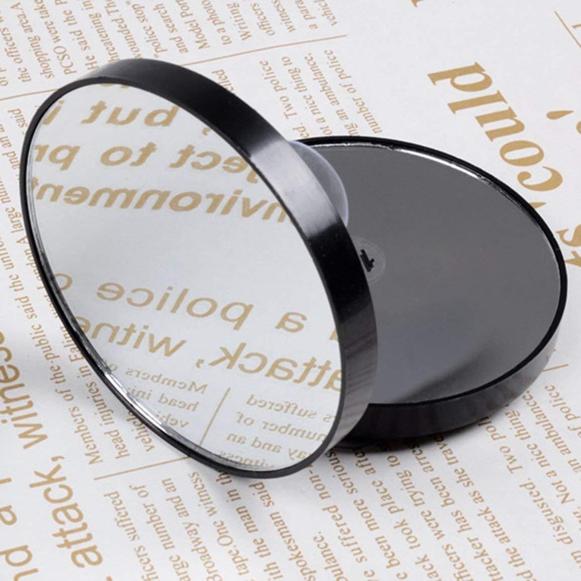 Fantasyworld Vanity Maquillage Miroir 5X 10X 15X Miroir grossissant avec Deux Ventouses Outils cosm/étiques Mini Round Miroir Miroir Salle de Bains