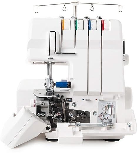 Juki MO4S Máquina de Coser Remalladora Overlock profesional 4 hilo con diferencial / Enhebrado automático +