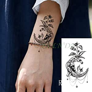 tzxdbh 3Pc-Etiqueta engomada del Tatuaje a Prueba de Agua Bailando ...