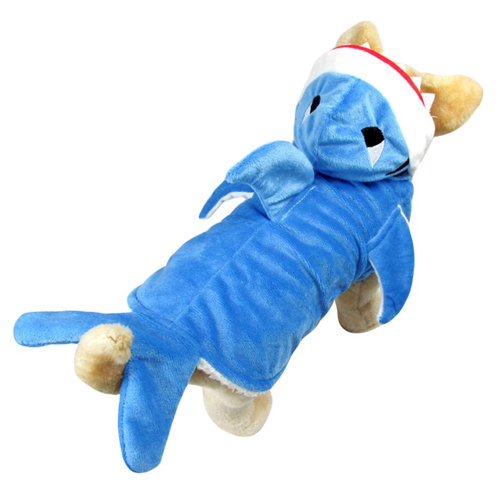 Jitong Disfraz de Tiburón para Perro, Trajes Mascotas para ...