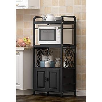 Amazon.com: ZXCC - Soporte para horno de microondas, aspecto ...
