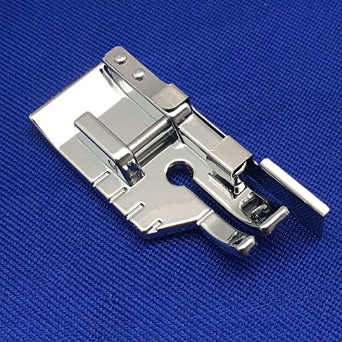 YEQIN 1/4'' Quilting Patchwork Sewing Machine Presser Foot with Edge Guide - Fits All Low Shank Snap-On Singer, Brother, Babylock, Euro-Pro, Janome, Juki, Kenmore, New Home, White, Simplicity, Elna - Edge Patchwork