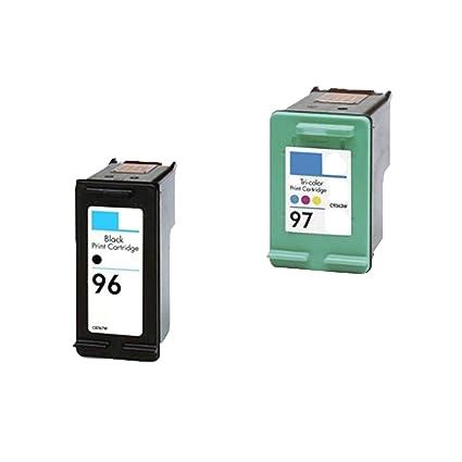 Oficina montaña HP 96 cartuchos de tinta remanufacturados HP 97 ...