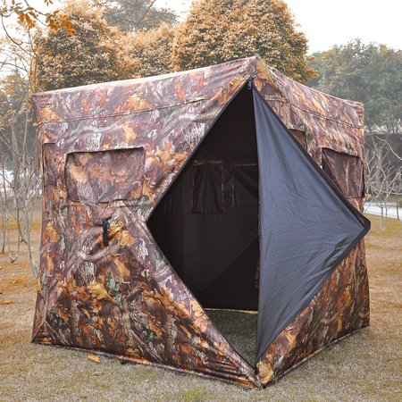 CHIMAERA Pop-Up Hunting Camping Camouflage Weatherproof Tent XL Easy Set-Up