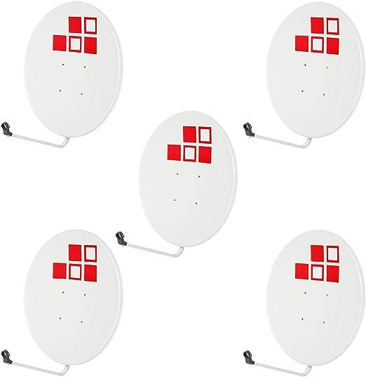 Diesl.com - Pack 5 Antenas Parabólicas Kuma 80cm Offset