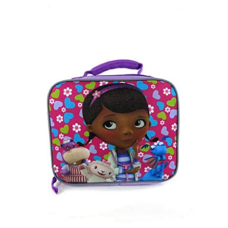 6f250d2fce00 Doc Mcstuffins Pink and Blue Rectangular 9 inch Lunch Box