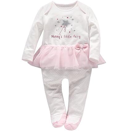 Vine Bebé Tutú Peleles Niñas Pijama Algodón Mameluco Recién nacido ...