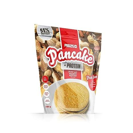 Pancake + Protein: Tortitas de avena con proteína 900 g Crema de cacahuete