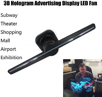 Cover Mason 3d Holograma Publicidad pantalla LED ventilador ...