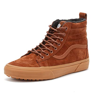 Amazon.com  Vans Men s Sk8-Hi MTE Suede Trainers 67fe513e2decc