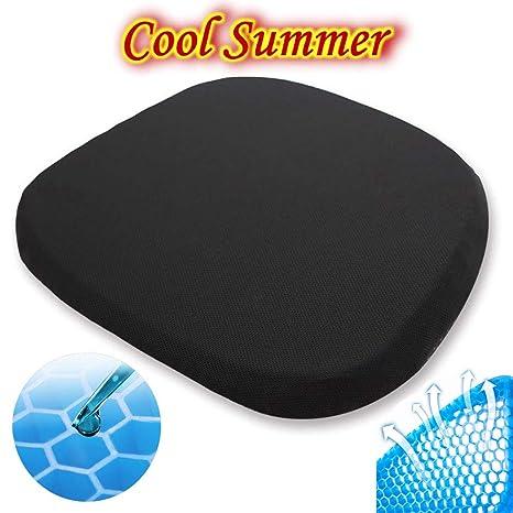 Amazon.com: Cojín de gel para asiento, diseño de huevera de ...