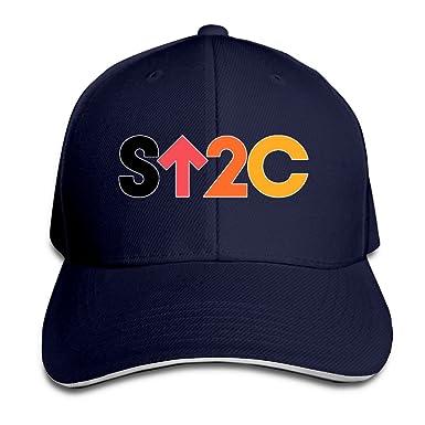 40ca73213ea Zotan Stand Up 2 Cancer SU2C Plain Adjustable Snapback Hats Caps   Amazon.co.uk  Clothing