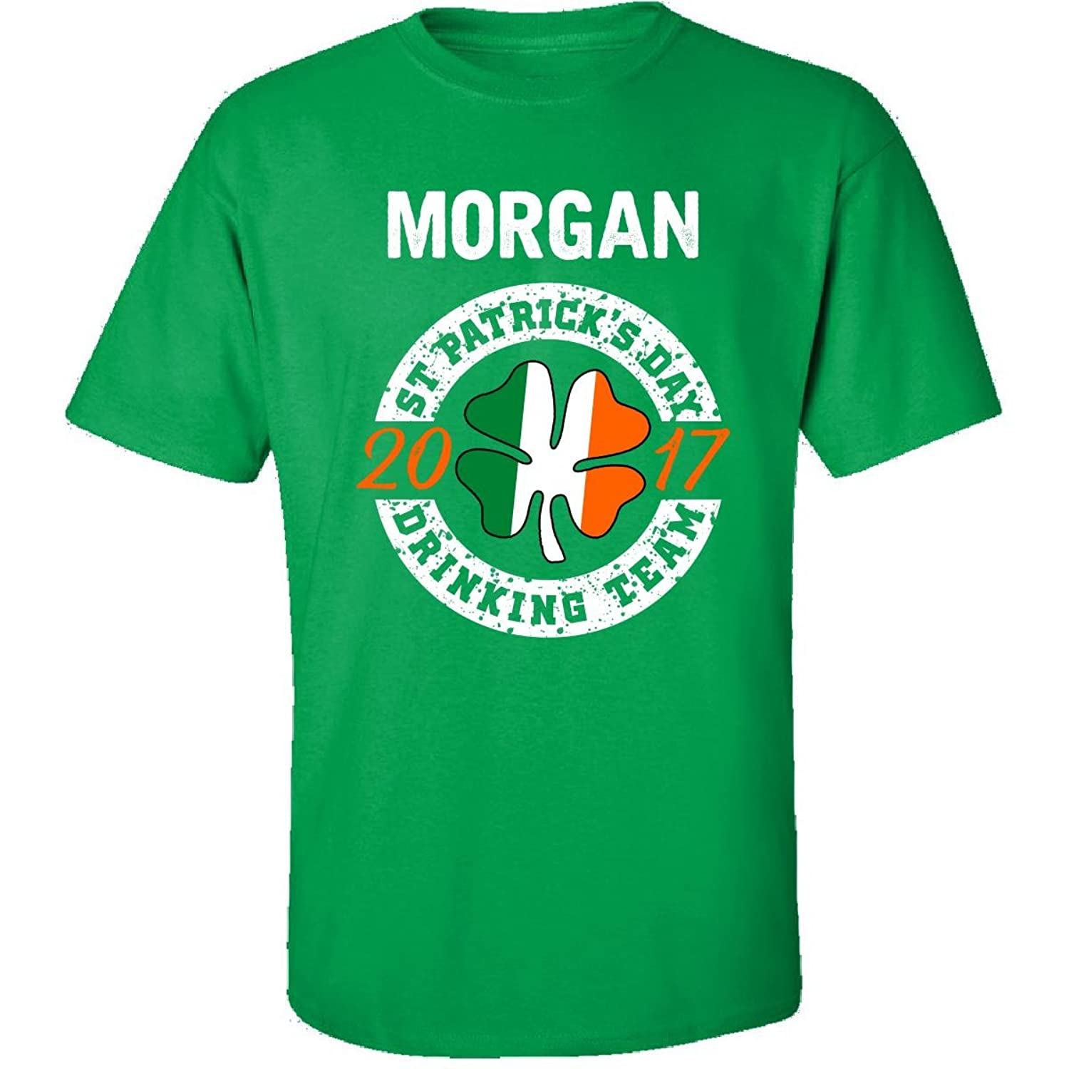 Morgan St Patricks Day 2017 Drinking Team Irish - Adult Shirt