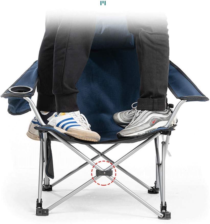 Aoyo Chaise Pliante Extérieure, Chaise Longue De Pêche De Dossier Portable, Lit De Pause Déjeuner Camping Chaise De Plage De Tabouret De Loisirs(Color:Une) B