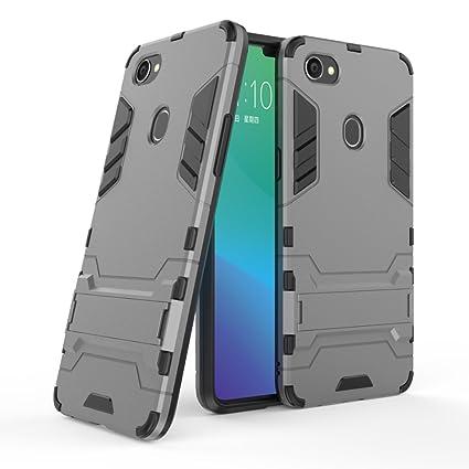the best attitude 5cd67 10b2d Amazon.com: Zhusha Cases & Cover, OPPO F7/OPPO A3 Case,Dual Layer ...