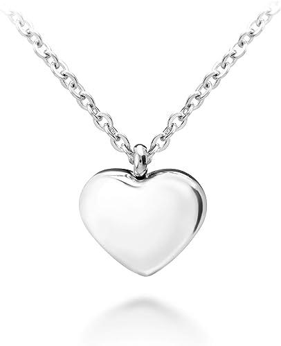 Amazon Com 555jewelry Womens Stainless Steel Love Cute Heart