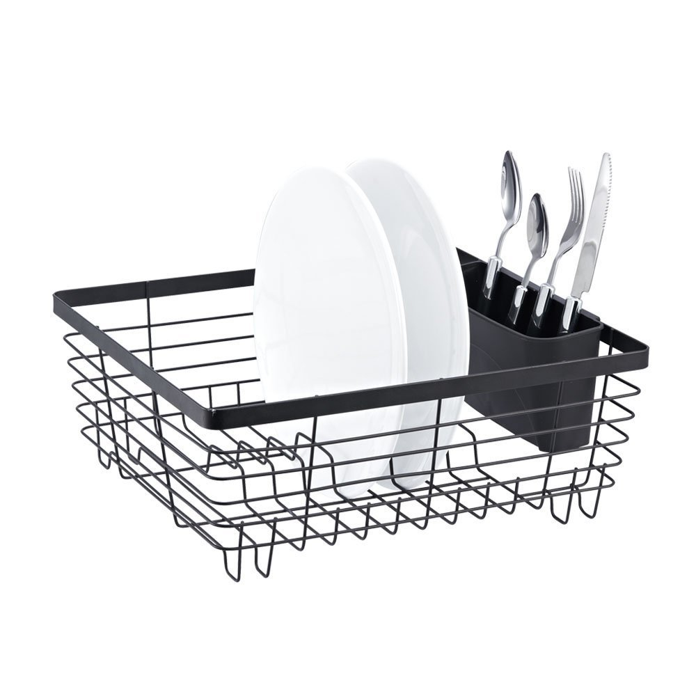 Amazon  Stylish Sturdy Oil Rubbed Bronze Metal Wire Small Dish Drainer  Drying Rack