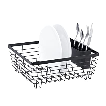 Stylish Sy Oil Rubbed Bronze Metal Wire Small Dish Drainer Drying Rack