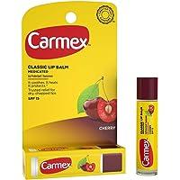 Carmex Click-Stick Moisturizing Lip Balm Spf 15 Cherry 0.15 Oz (Pack Of 3)