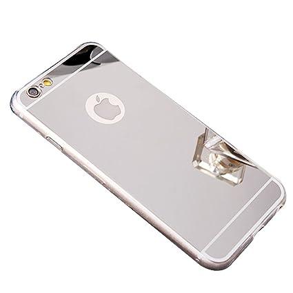 Amazon.com: iPhone 6 Mirror Case, iPhone 6S Mirror case,YMCCOOL ...
