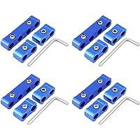 KIMISS 12Pcs Aleación de aluminio Kits de Separador