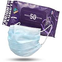LundyBright 50 Mascarillas Quirúrgica Desechable Homologada Certificado CE Tipo I BFE≥95% Alta Eficiencia 3 capas…