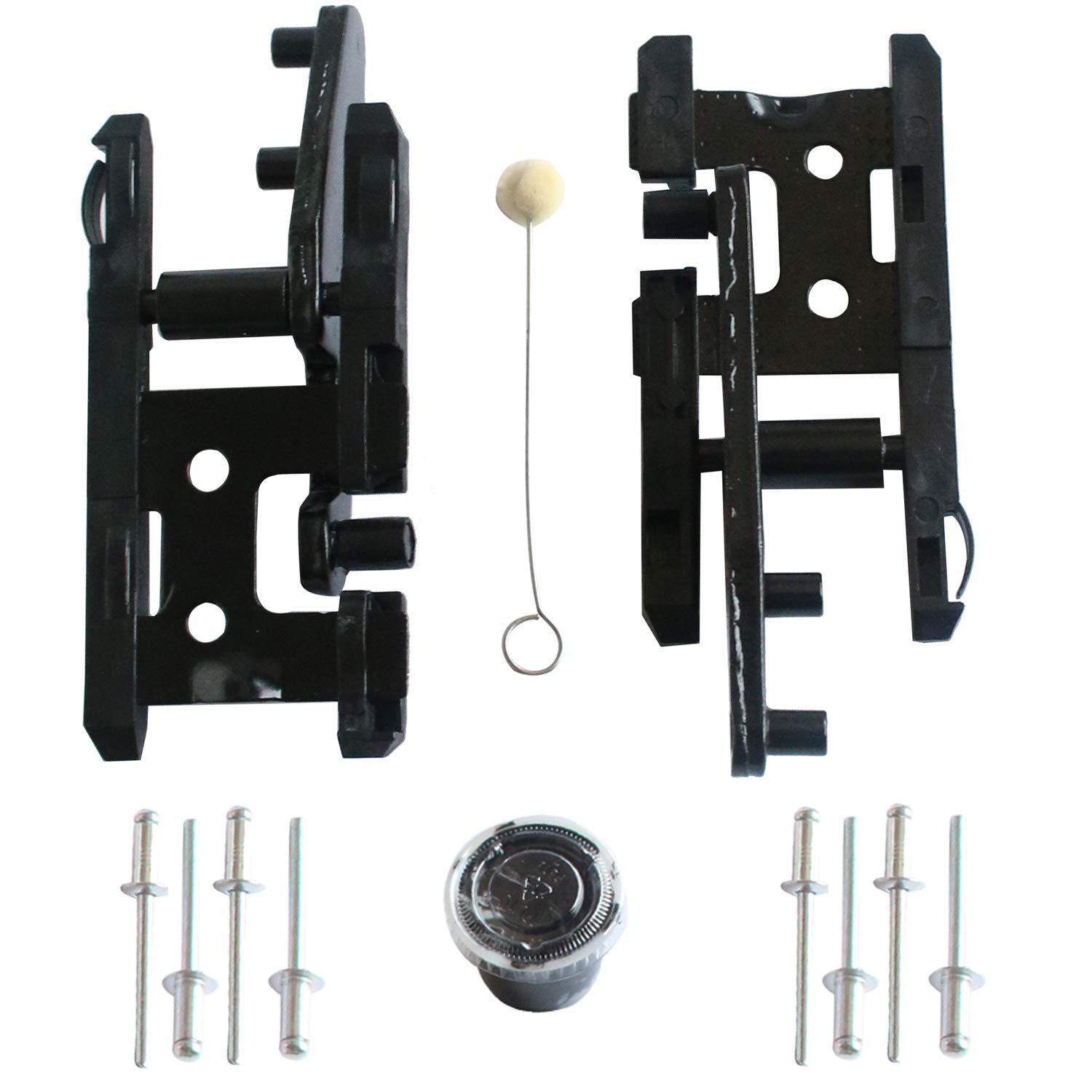 for Navigator 2000-2016 F250 F350 F450 2005-2016 for Lincoln Mark LT 20006-2008 LIYA Sunroof Track Assembly Repair Kit Fits Ford F150 2000-2014