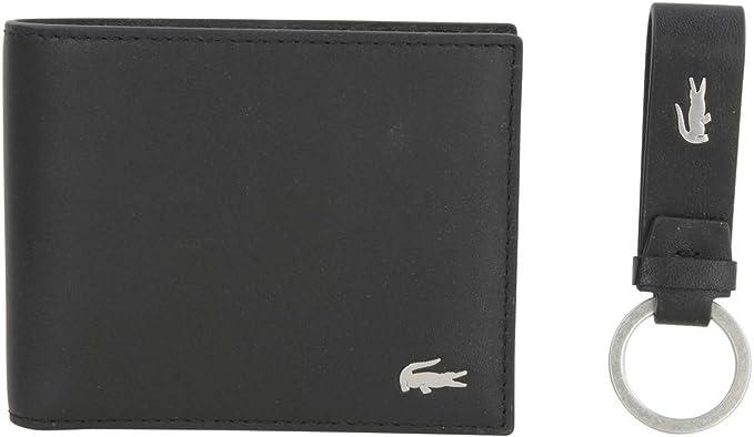 1b2ea7dc55eebe Lacoste Small Billfold and Key Ring Set  Amazon.co.uk  Clothing