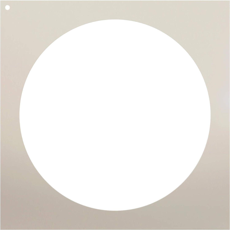 "POLKA DOTS STENCIL DOT TEMPLATE CIRCLE CIRCLES STENCILS NEW PAINT ART 8/"" x 10/"""