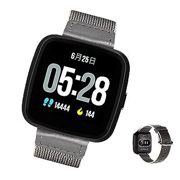 Love Life Relojes Inteligentes, Monitores De Frecuencia Cardíaca, Correas De Nylon Y Acero Opcionales