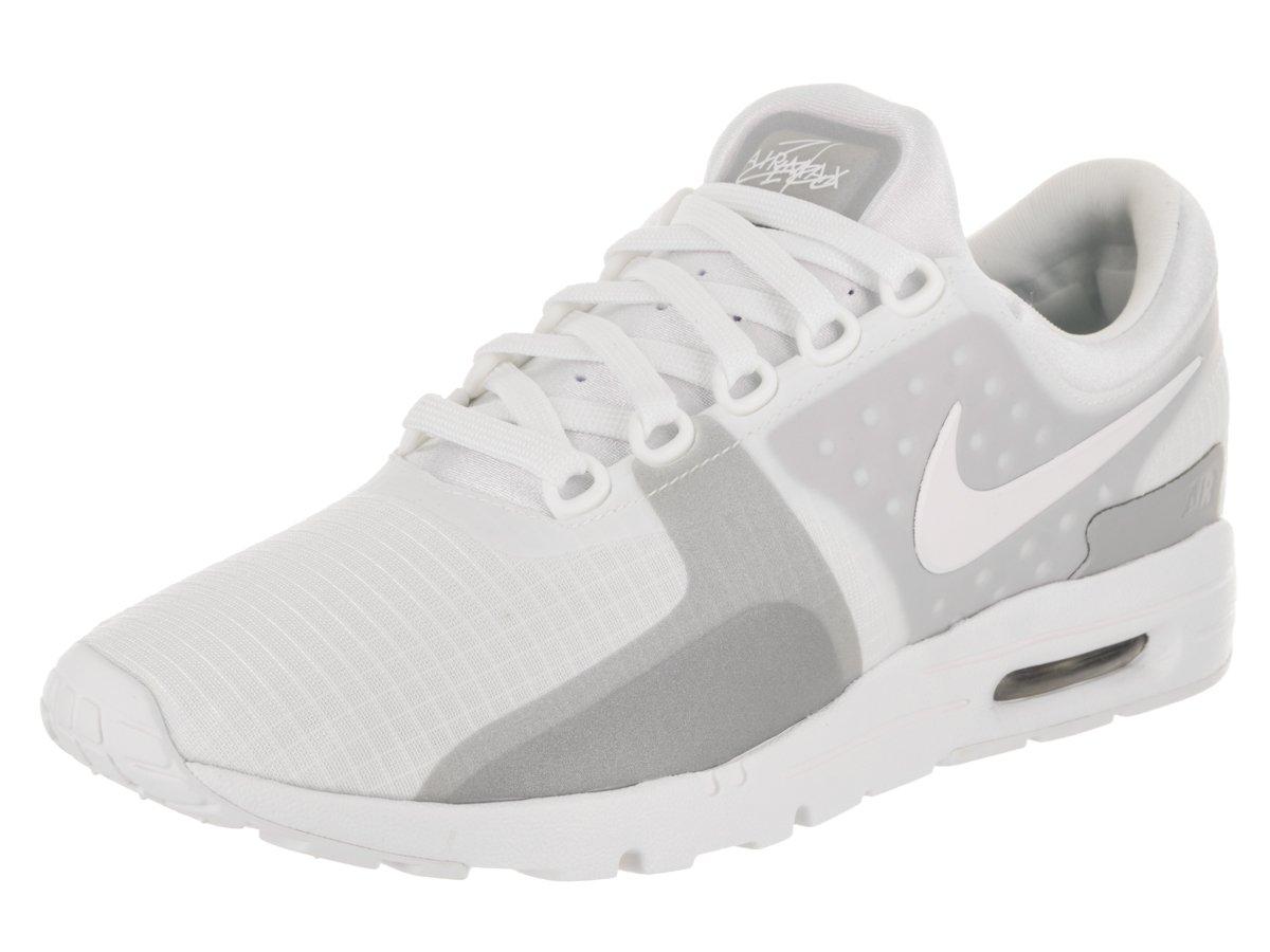 NIKE Women's Air Max Zero SI White/White Wolf Grey Running Shoe 12 Women US